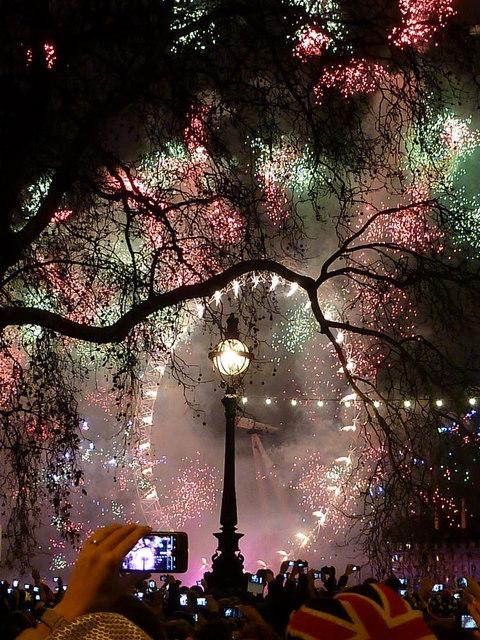 Окото на Лондон - Нова година